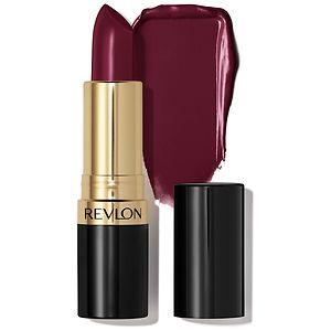 Revlon Super Lustrous - Creme Lipstick, Black Cherry- .15 oz
