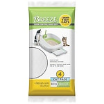 Tidy Cats Breeze Cat Litter Pads Refill, 4 Pads