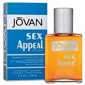 Jovan Sex Appeal for Men, Aftershave/Cologne- 4 fl oz