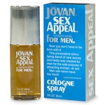 Jovan Sex Appeal for Men, Cologne Spray- 3 fl oz