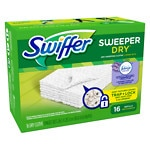 Swiffer Sweeper Dry Sweeping Cloths with Febreze, Lavender Vanilla & Comfort- 16 ea