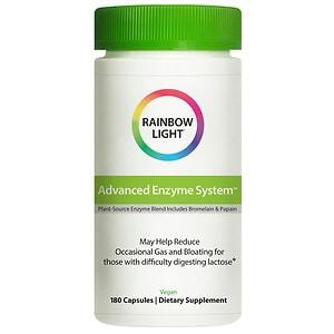 Rainbow Light Advanced Enzyme System, Vcaps- 180 ea