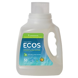 Earth Friendly Products ECOS Laundry Detergent, Lemongrass