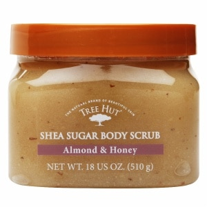 Tree Hut Body Scrub, Almond Honey- 18 oz