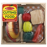 Melissa and Doug Cutting Food Box Game, Ages 36 months - 5 years