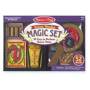 Melissa and Doug Deluxe Magic Set, Ages 8+- 1 ea