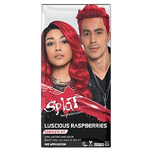 Splat Hair Color Complete Kit, Luscious Raspberries, 1 application