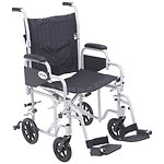 Drive Medical Poly Fly Light Weight Transport Chair Wheelchair