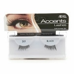 Ardell Accent Lashes, Black #301- 1 pr