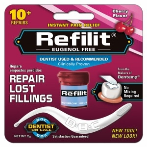 Dentist On Call Refilit Repair Lost Fillings, Cherry- .07 oz