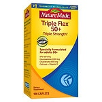 Nature Made TripleFlex 50+, Caplets- 120 ea