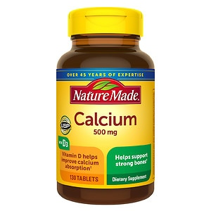 Nature Made Calcium, 500mg, Tablets