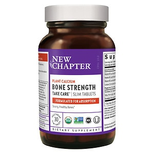 New Chapter Bone Strength Take Care, Slimline Tablets- 30 ea