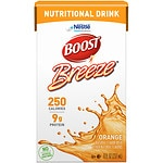 Boost Breeze Resource Drink, Orange, 8 oz Cartons, 27 pk- 8 oz
