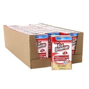 Boost Kid Essentials Nutritionally Complete Drink, 1.5 Cal, Vanilla, 8 oz Cartons, 27 pk- 8 oz