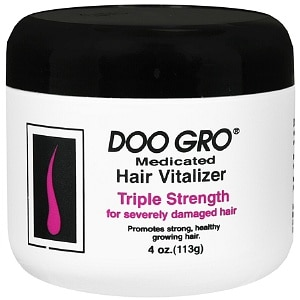Doo Gro Medicated Hair Vitalizer, Triple Strength for Severely Damaged Hair, 4 oz