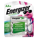 Energizer Recharge Batteries, AA