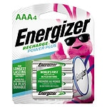 Energizer Recharge Batteries, AAA