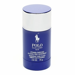 Ralph Lauren Blue for Men Alcohol-Free Deodorant, Vitamin Enriched- 2.6 fl oz
