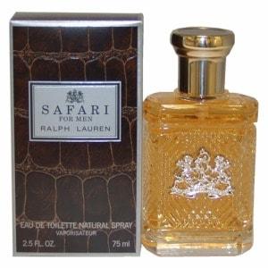 Ralph Lauren Safari For Men Eau de Toilette Spray- 2.5 oz