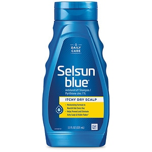 Selsun Blue Dandruff Shampoo, Itchy Dry Scalp- 11 fl oz