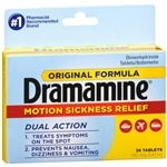 Dramamine Original Formula Tablets