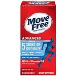 Schiff Move Free Advanced Plus MSM & Vitamin D3 Dietary Supplement, Tablets- 80 ea