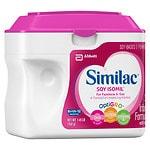 Similac Isomil Soy Infant Formula with Iron, Powder- 1.45 lb