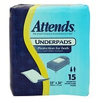 Attends Underpads 23x36