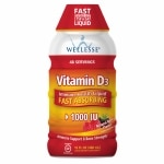 Wellesse Vitamin D3 1000 IU, Liquid