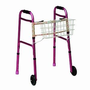 Duro-Med Clip On Walker Basket- 1 ea