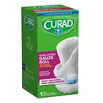 Curad Bandage Roll, 4.5 in- 4 yd