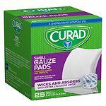 Curad Pro-Gauze, 2 in x 2 in- 25 ea