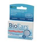 BioEars Soft Silicone Earplugs- 3 ea