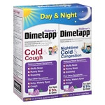 Children's Dimetapp Cold & Cough/Congestion - Day/Night Value Pack, Grape