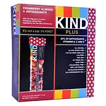 KIND Plus Nutrition Bars, Cranberry & Almond + Antioxidants, 12