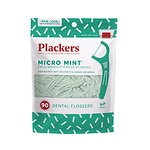 Plackers Dental Flossers Micro, Mint