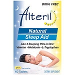 Biotab Nutraceuticals Alteril Sleep Aid with L-Tryptophan, Tablets