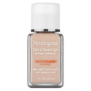 Neutrogena SkinClearing SkinClearing Oil-Free Liquid Makeup, Natural Ivory