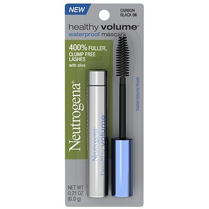 Neutrogena Healthy Volume Waterproof Mascara, Carbon Black 06