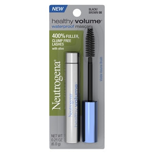 Neutrogena Healthy Volume Waterproof Mascara, Black/Brown 08