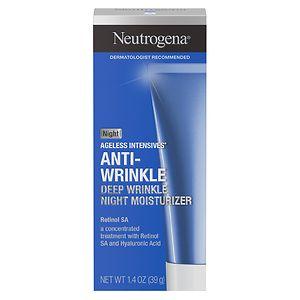 Neutrogena Ageless Intensives Deep Wrinkle Moisture, Night- 1.4 oz