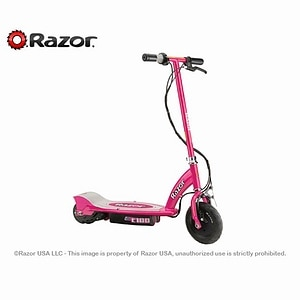 Razor E100 Electric Scooter, Pink Ages 8+- 1 ea