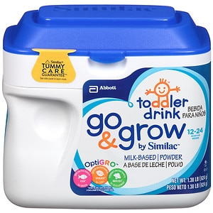 Similac Go & Grow Toddler Drink, Powder- 1.38 lb