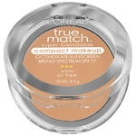 L'Oreal Paris True Match Super-Blendable Compact Makeup, Natural Beige W4- .3 oz