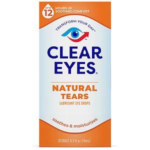 Clear eyes Natural Tears Lubricant- .5 fl oz