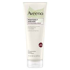 Aveeno Active Naturals Positively Ageless Firming Body Lotion, 8 oz