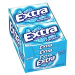 Extra Sugarfree Gum, Peppermint, 10 pk- 15 ea