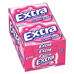 Extra Sugarfree Gum, Classic Bubble