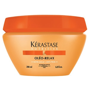 Kerastase Nutritive Oleo-Relax Smoothing Masque for Dry, Rebellious Hair- 6.8 fl oz